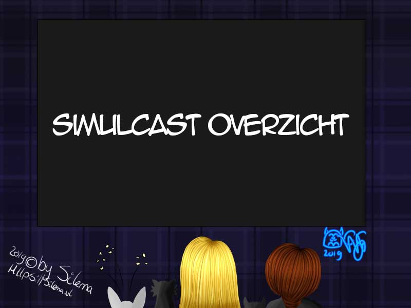 Anime simulcast overzicht