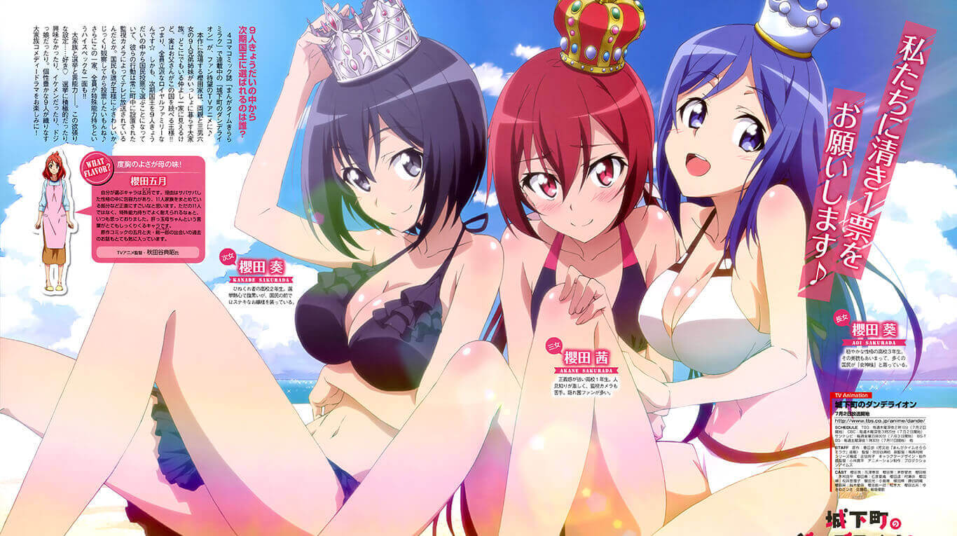 Joukamachi no Dandelion BD Subtitle Indonesia Batch