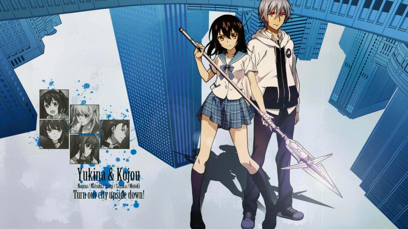 Strike the Blood BD Batch Subtitle Indonesia (Episode 01-24 + 2 OVA)