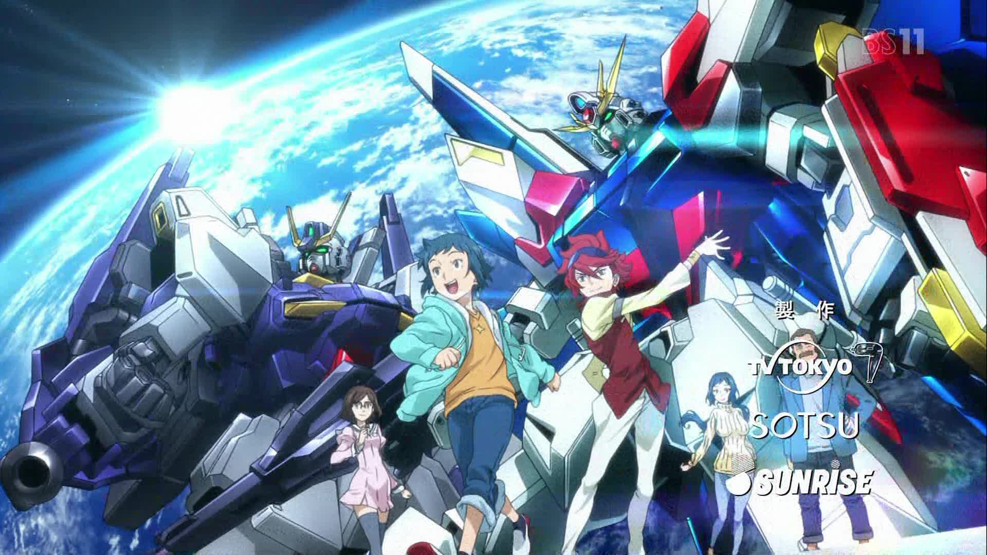 Gundam Build Fighters BD Subtitle Indonesia Batch (Episode 01-25)