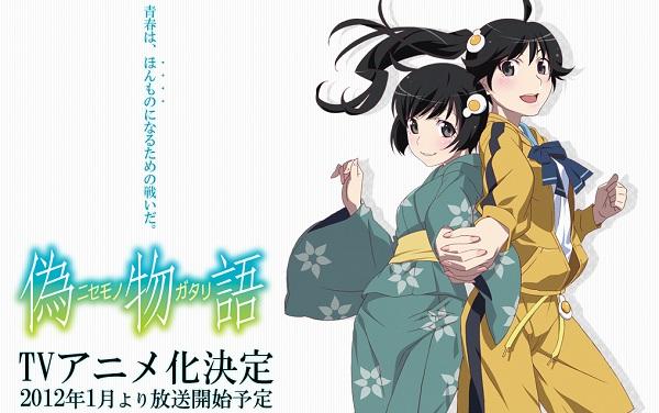 Nisemonogatari - taeser home page
