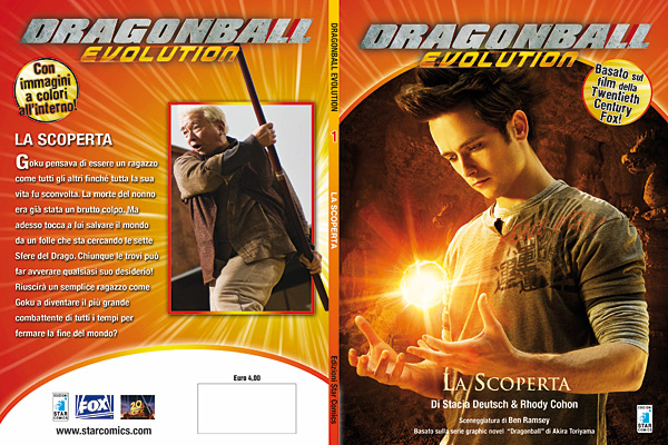 Dragon Ball Evolution romanzo 01 - cover