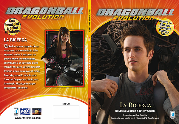 Dragon Ball Evolution romanzo 02 - cover