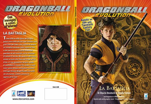 Dragon Ball Evolution romanzo 03 - cover