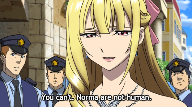 Ange reveals her prejudices about Norma.