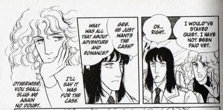 Dorian and Klaus talk at cross purposes