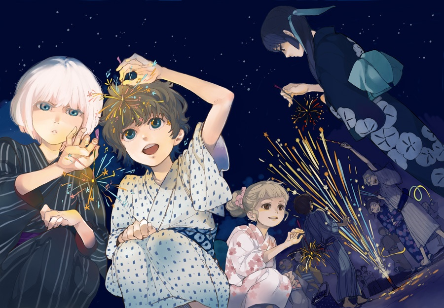 The cast of Shounen Note.