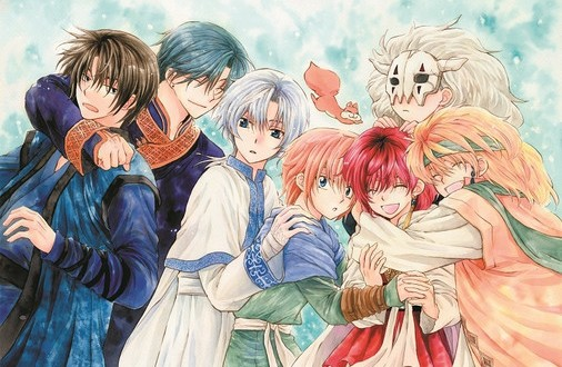 The cast of Yona of the Dawn
