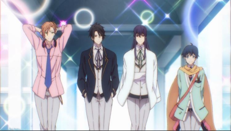 the four members of the student council