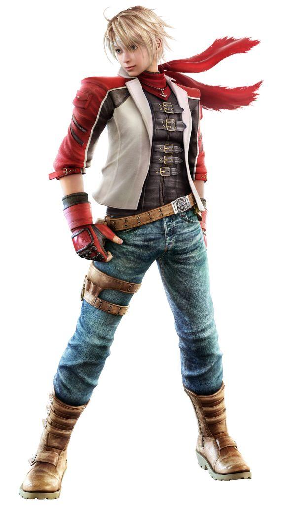 concept art of Leo in Tekken 6
