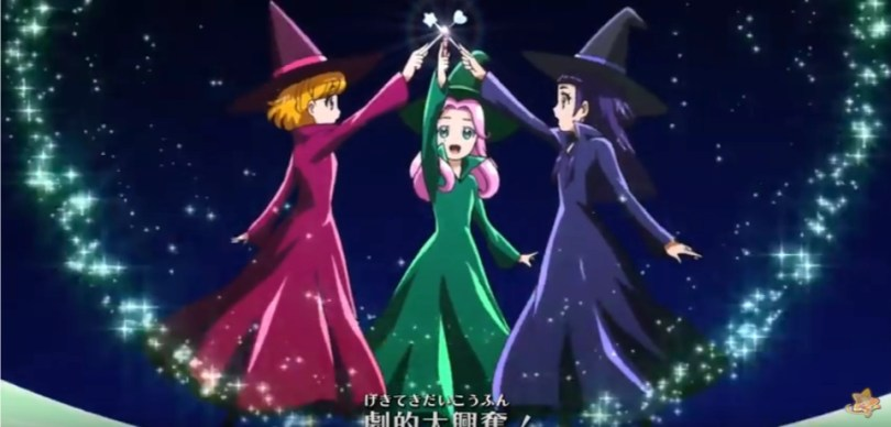 the opening of Maho Girl Precure