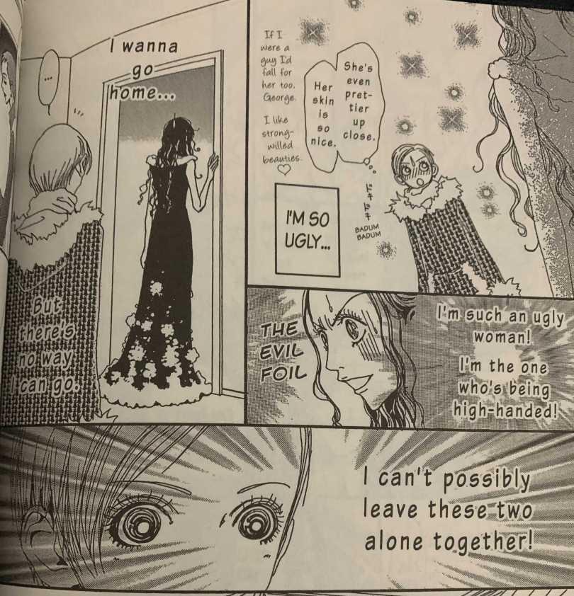 Yukari realizing she sounds cruel but still worrying about leaving George and Kaori alone