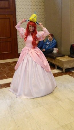 Anime Boston 2013 - Cosplay - Little Mermaid 002