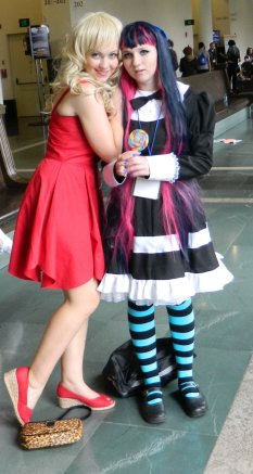 Anime Boston 2013 - Cosplay - Panty & Stocking 004
