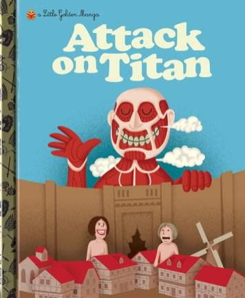 Little Golden Manga Attack on Titan