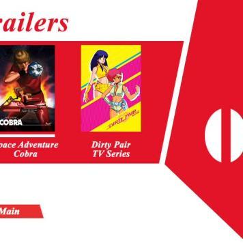 Trailers Menu