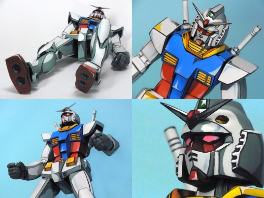 Anime RX-78-2 Gunpla 019 - 20141126