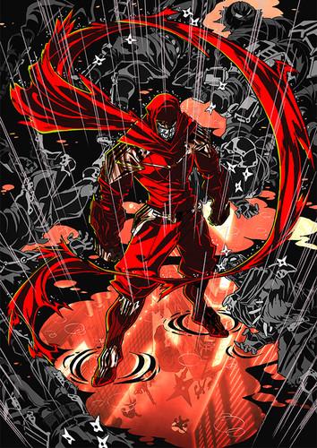 Ninja Slayer Key Visual 001 - 20150304