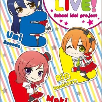 Love Live Lawson Clear File 002 - 20150430