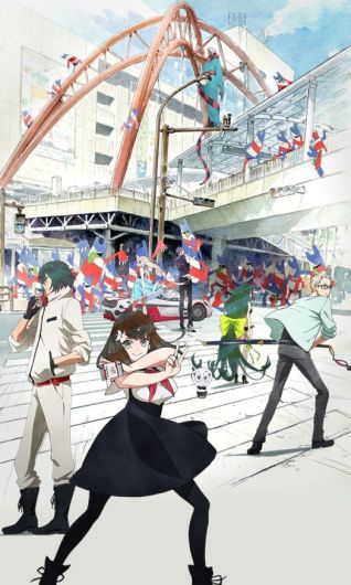 Gatchaman Crowds Insight Key Visual 001 - 20150508