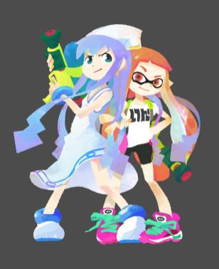 Splatoon Squid Girl Full 001 - 20150603