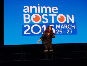 Anime Boston 2016 - Opening Ceremonies - Monica Rial 003 - 20160330