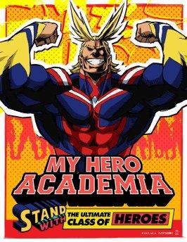 My Hero Academia Character Visual - All Might 001 - 20160314