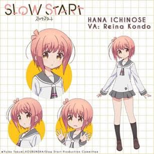 Slow Start Character Visual - Hana Ichinose 001 - 20171213