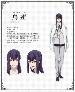 Butlers Chitose Momotose Monogatari Character Visual - Ren Shiratori 001 - 20180126
