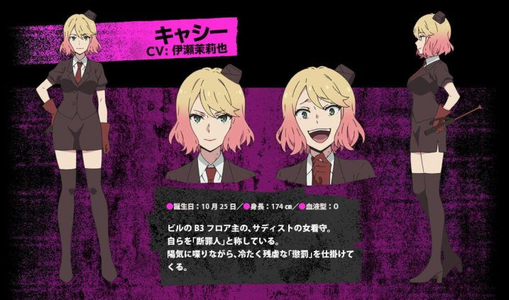 Angels of Death Character Visual - Cassie