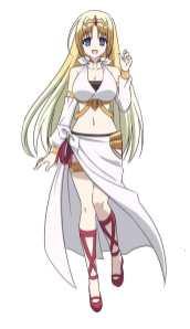 The Master of Ragnarok & Blesser of Einherjar Character Visual - Felicia
