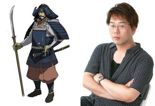 Angolmois Character Visual - Shiraishi Kazuhisa