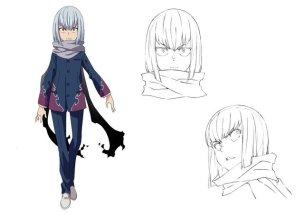 SSSS Gridman Character Visual - Mysterious Boy