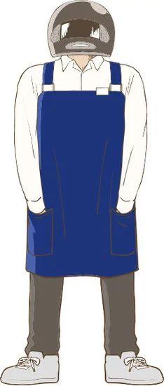 Gaikotsu Shotenin Honda-san Character Visual - Full-Face