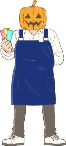 Gaikotsu Shotenin Honda-san Character Visual - Lantern