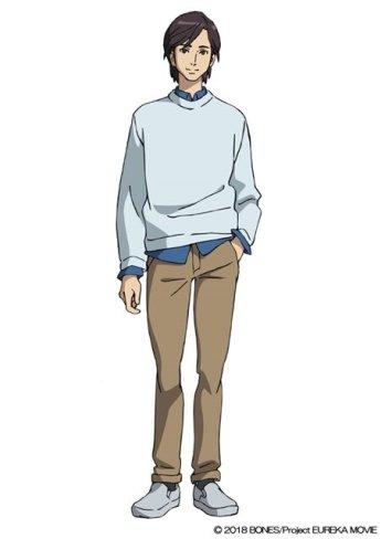 Anemone Eureka Seven Hi-Evolution Character Visual - Ken Ishii