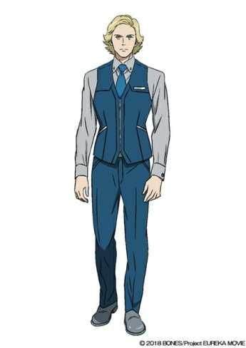 Anemone Eureka Seven Hi-Evolution Character Visual - Ramon Zimmer