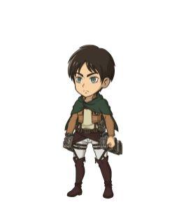 DanMemo x Attack on Titan Character Visual - Eren