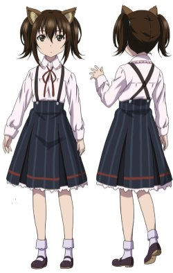Strike the Blood III Character Visual - Carly