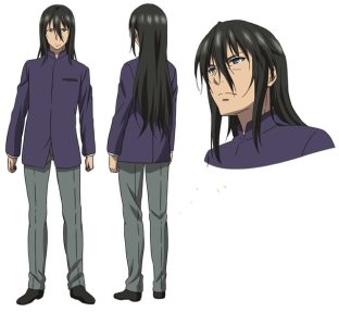 Strike the Blood III Character Visual - Sengaku