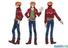 RobiHachi Character Visual - Robby Yaji