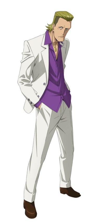 Kabukicho Sherlock Character Visual - Torataro Kobayashi