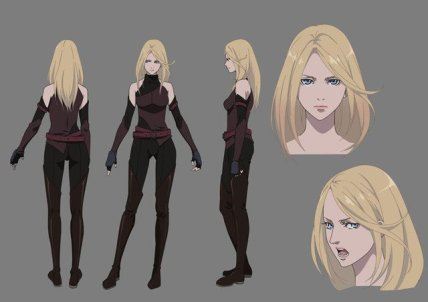 Fairy Gone Character Visual - Veronica Thorn