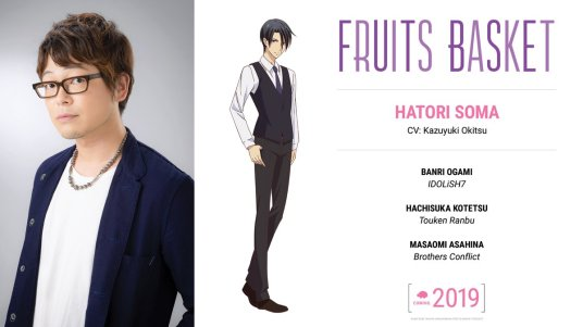 Fruits Basket Character Visual - Hatori Soma