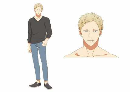 Given Anime Character Visual - Akihiko Kaji