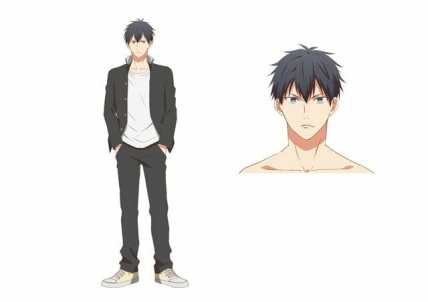 Given Anime Character Visual - Ritsuka Uenoyama