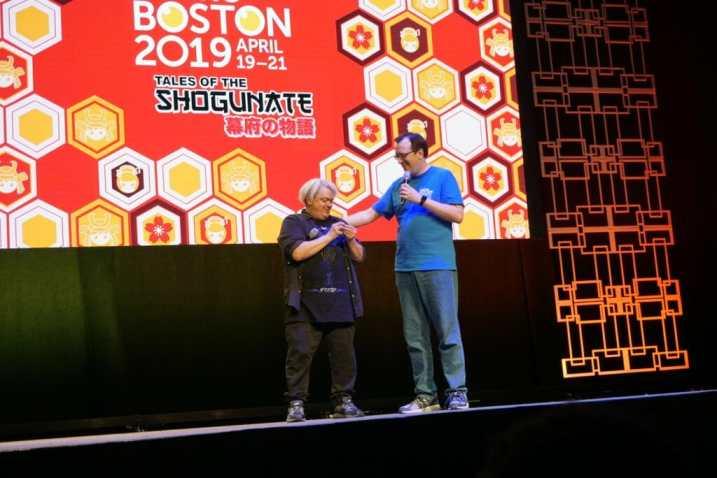 Anime Boston 2019 - Opening Ceremonies - Patrick Delahanty and Greg Ayres