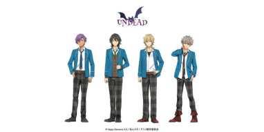 Ensemble Stars Anime Cast Visual - Undead