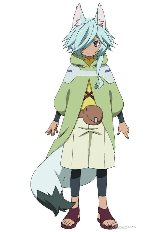 Gundam Build Divers ReRISE Character Visual - Parviz