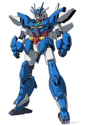 Gundam Build Divers ReRISE Mecha Visual - Earthree Gundam